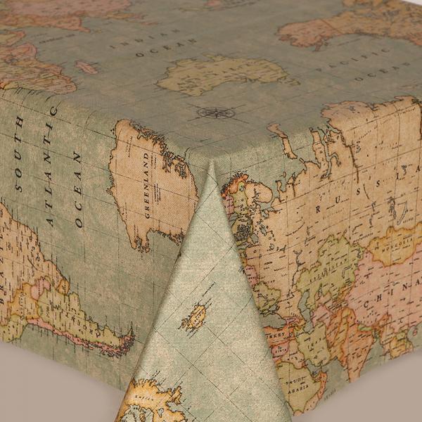 TAFELZEIL WORLD MAP