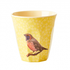 BEKER VINTAGE BIRD YELLOW