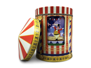 MUSICAL COOKIE TIN SMALL CIRCUS