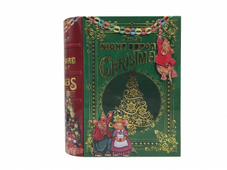 TIN BOEKDOOS CHRISTMAS