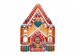 TIN GINGERBREAD HOUSE