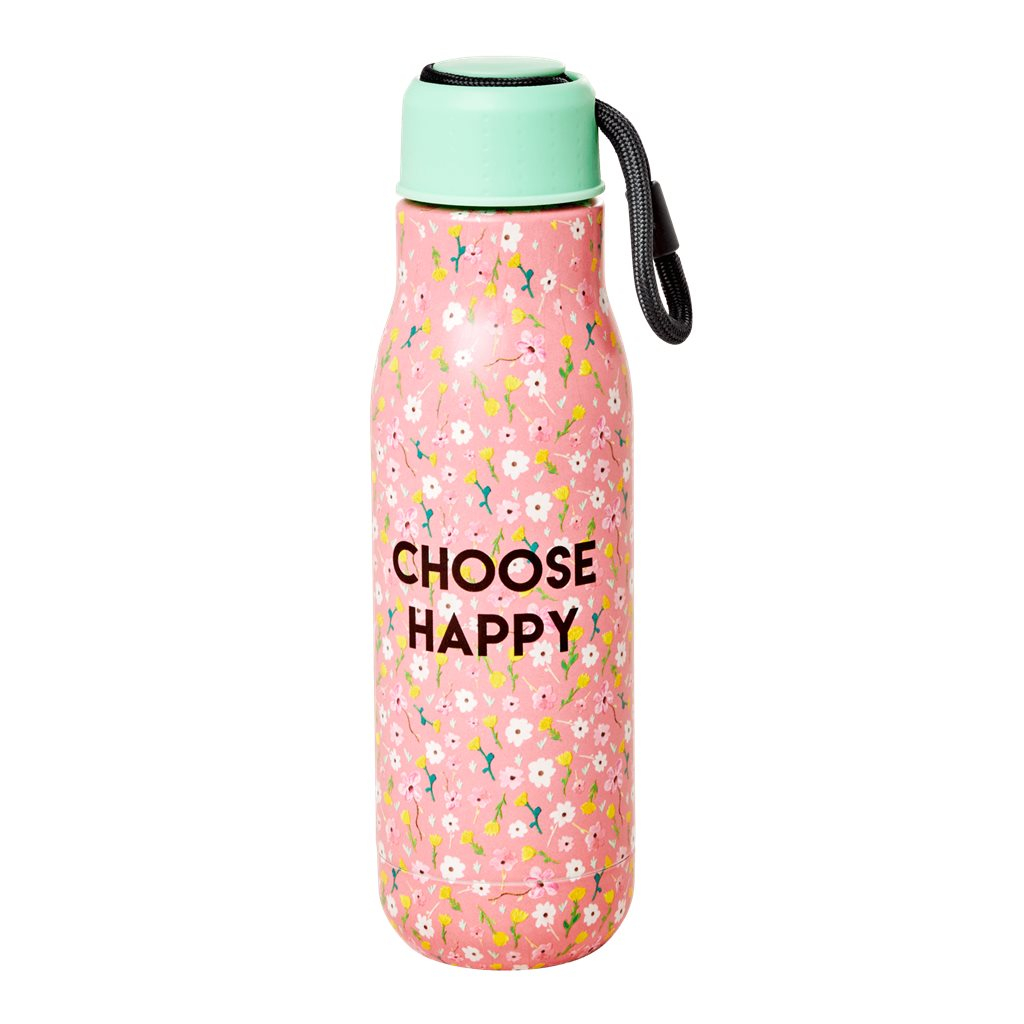 DRINKBUS RVS CHOOSE HAPPY