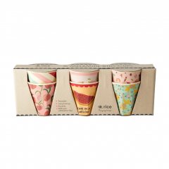 SET MELAMINE CUPS KIDS