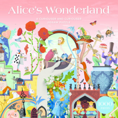 PUZZEL THE WORLD OF ALICE IN WONDERLAND