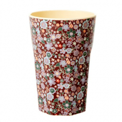 GROTE BEKER FALL FLORAL