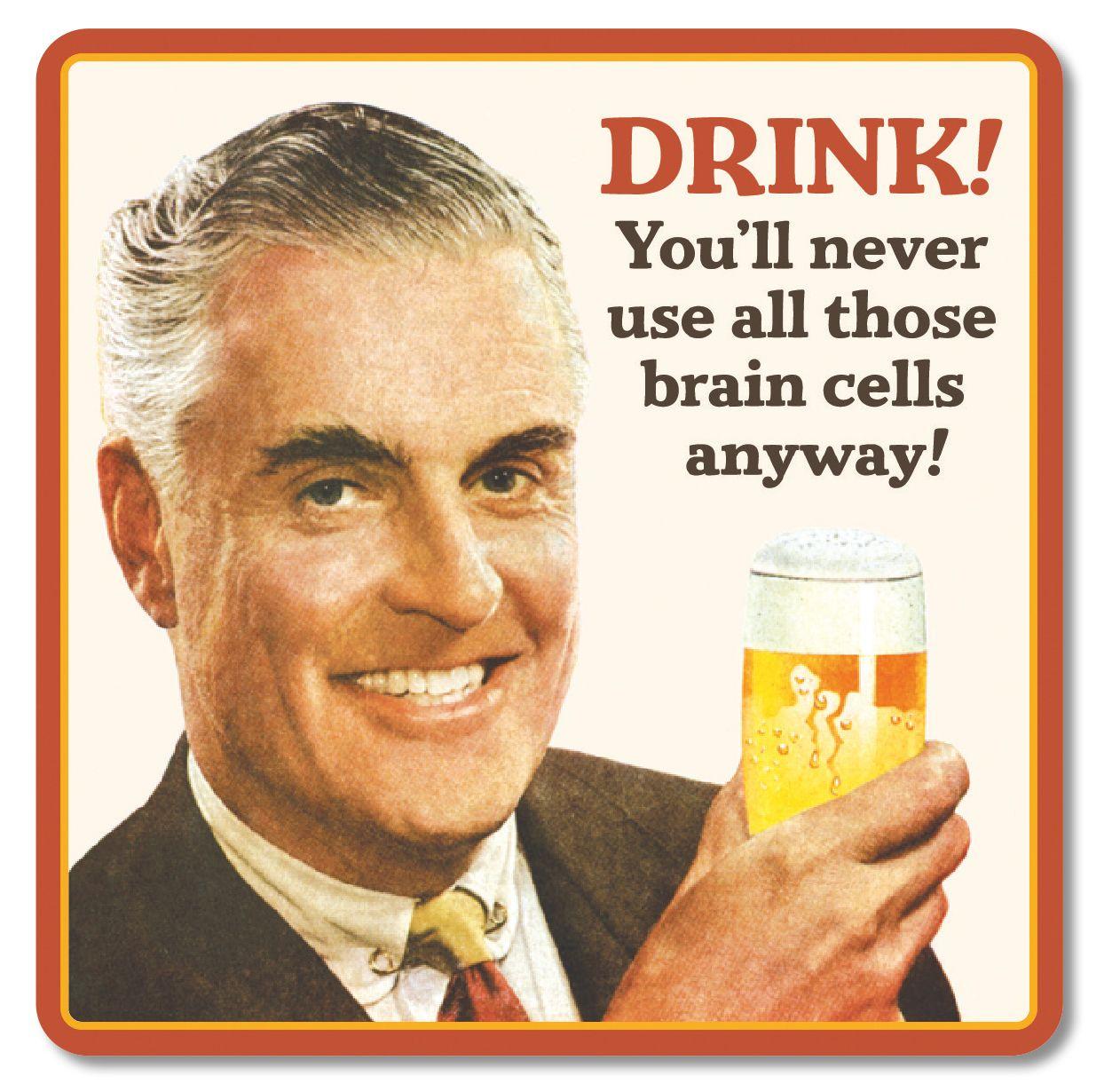RETRO COASTER DRINK!
