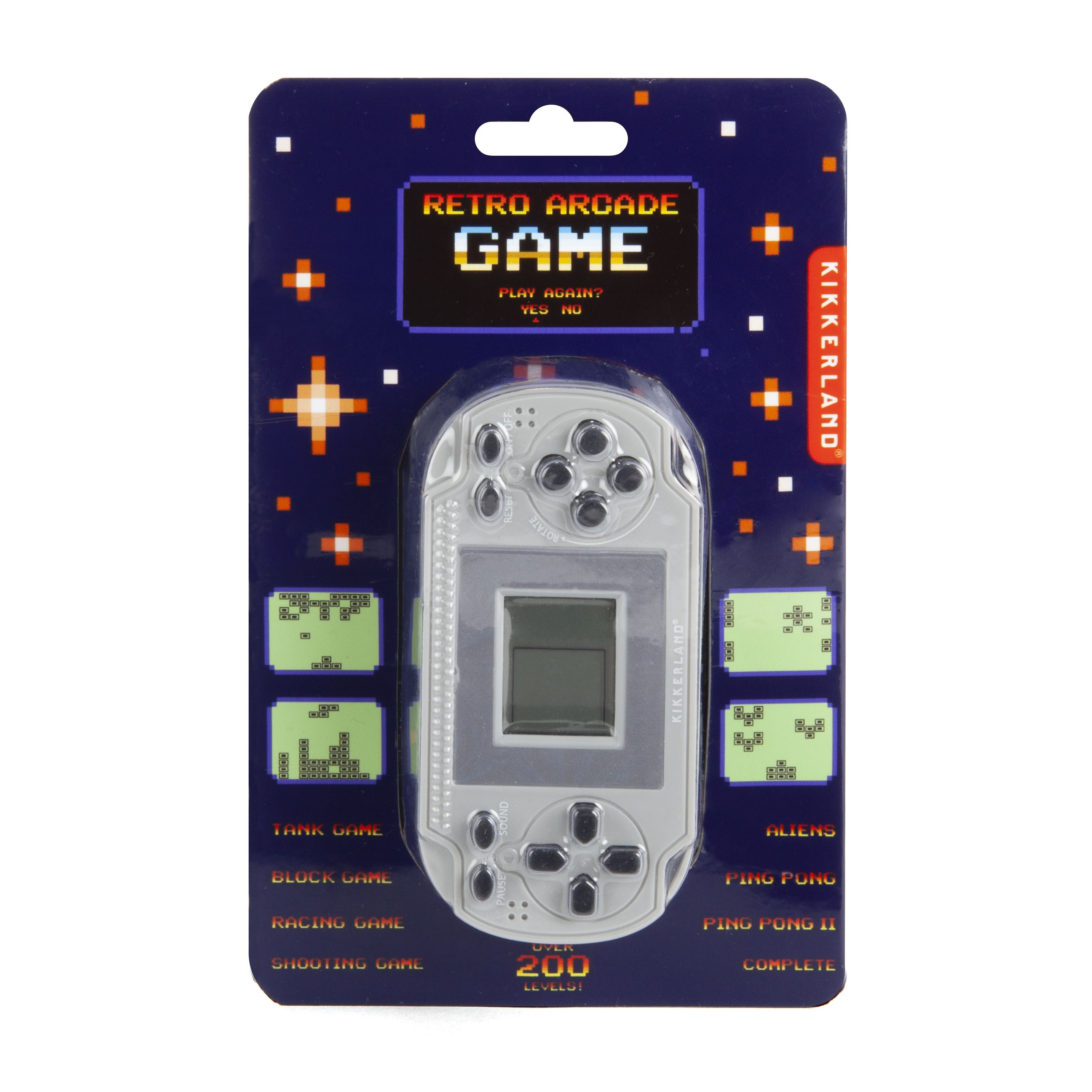 RETRO POCKET ARCADE GAME