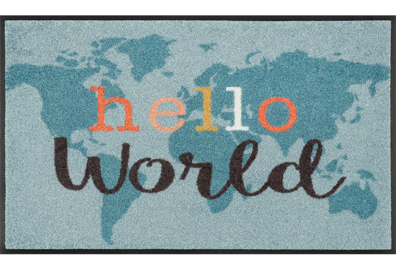 DEURMAT HELLO WORLD