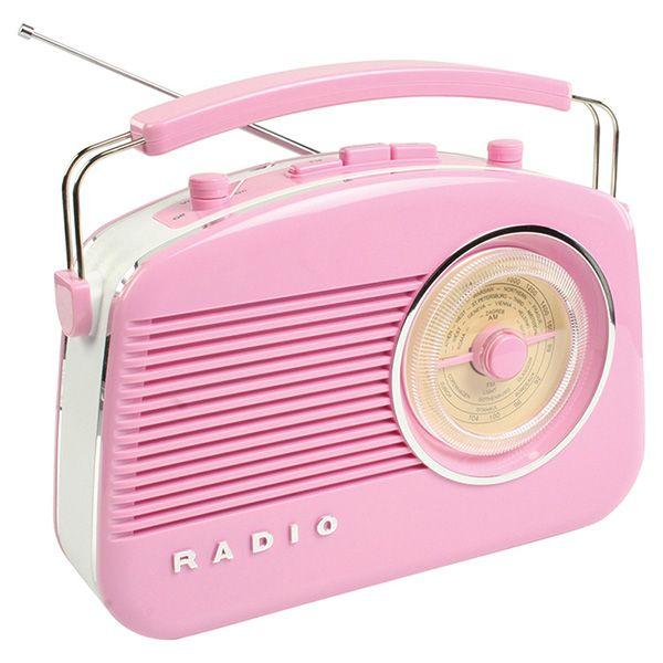 RETRO RADIO ROZE