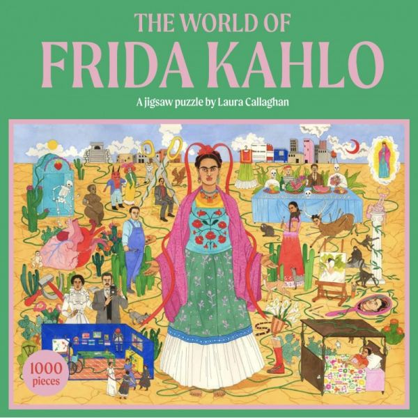 PUZZEL THE WORLD OF FRIDA KAHLO