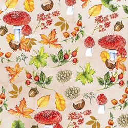 SERVIETTEN AUTUMN PATTERN
