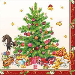 SERVIETTEN NOSTALGIC CHRISTMAS