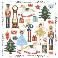 SERVIETTEN NUTCRACKER
