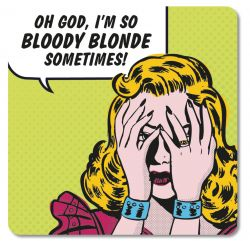 RETRO COASTER BLOODY BLONDE