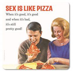RETRO COASTER SEX IS LIKE PIZZA