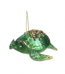 KERSTORNAMENT JEWEL BABY TURTLE