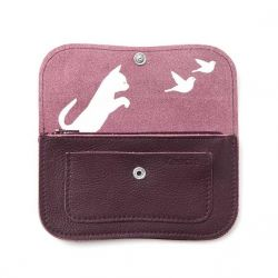 CAT CHASE MEDIUM AUBERGINE