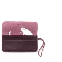 TOP SECRET CLUTCH AUBERGINE