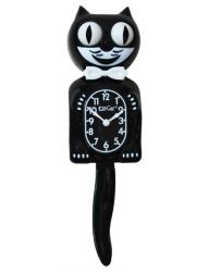 CLASSIC KIT CAT KLOCK BLACK