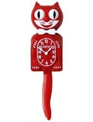 CLASSIC KIT CAT KLOCK SCARLET RED
