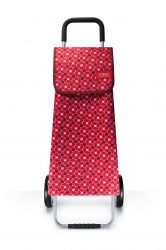 SHOPPING TROLLEY RETRO RED