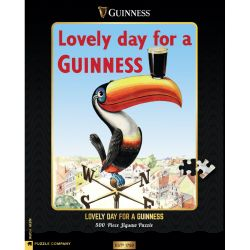 PUZZEL LOVELY DAY FOR A GUINNESS