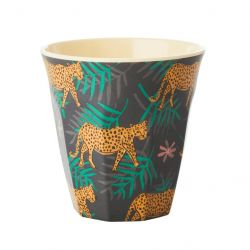 BEKER LEOPARD & LEAVES