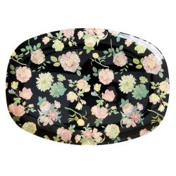MELAMINE BORD DARK ROSE