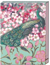 POCKET NOTEBOOK PEACOCK BLOSSOM