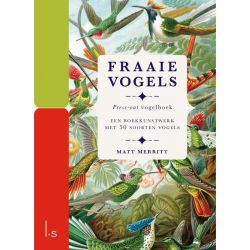 PRESS OUT BOEK - FRAAIE VOGELS